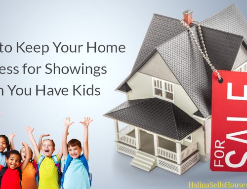 How to Keep Your Home Spotless for Showings When You Have Kids