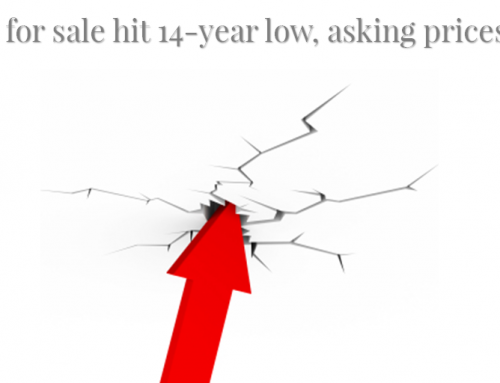 Houses for sale hit 14-year low asking prices surge