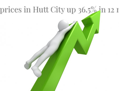 House prices in Hutt City up 36.5% in 12 months